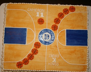 Duke basketball court for How much to build a half court basketball court